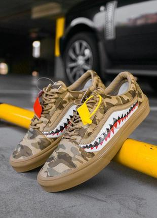 Четкие кеды 💪 vans old school brown camo 💪