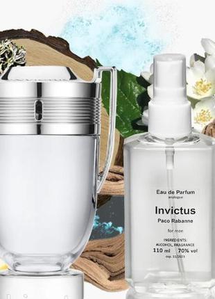 Мужская парфюмированная вода 110 мл аналог paco rabanne invictus
