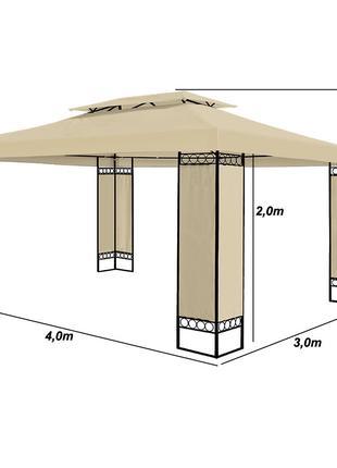 Шатер павильон 3х4 стационарный без стенок