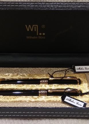 Набір ручок Wilhelm Buro кулькові 2 штуки (WB-188)