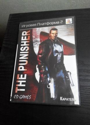 Коробка от игра The Punisher Каратель PS2 Sony Playstation 2 game