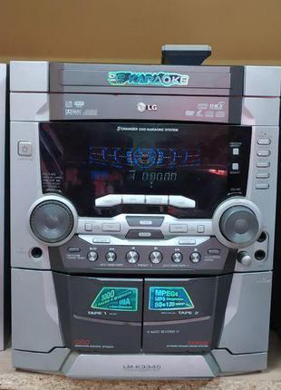 Музыкальный центр LG LM-K3340X