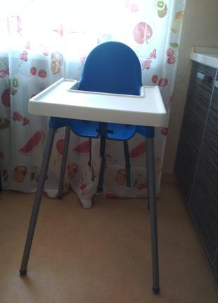 Ikea Antilop стульчик для кормления детский