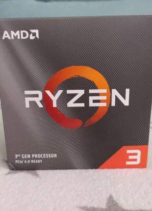 новый ryzen 3 3300x процессор