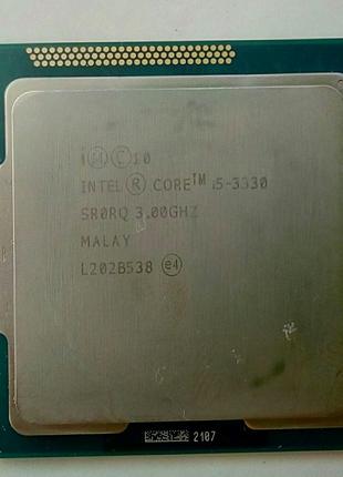 Intel core i5-3330 3000 MHZ