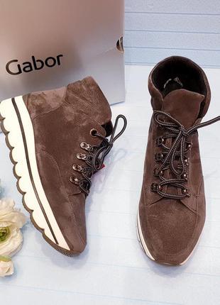Gabor - шикарные деми ботинки - 38, 39, 40