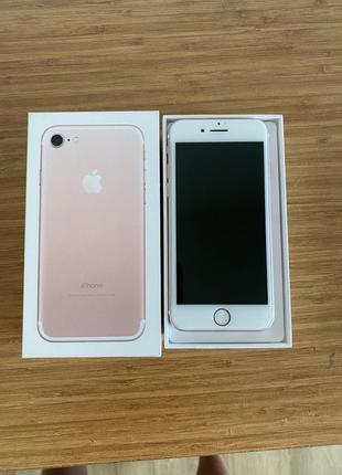 Apple iPhone 7 32Gb rose gold, как новый
