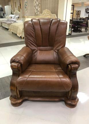 Шкіряне крісло CEZAR lll