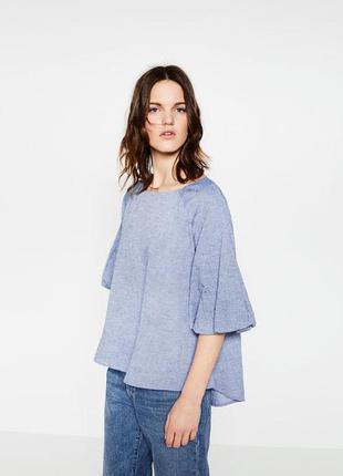 Блузка размер 12-14 zara