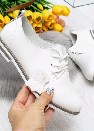 Женские туфли натуральная кожа 7044