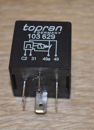 Реле поворотов TOPRAN 103 629, 90040385, 1226926, 431953231
