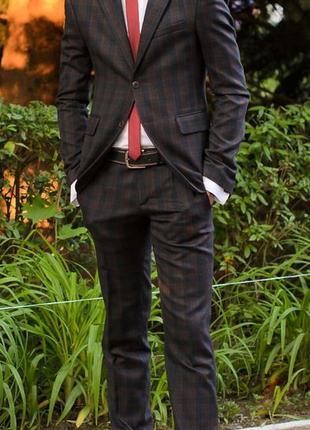 Мужской костюм (ручная работа ) пиджак+брюки