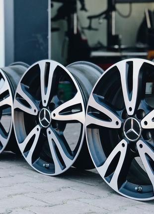 Оригинальные диски Mercedes-Benz. R 16. 5*112.