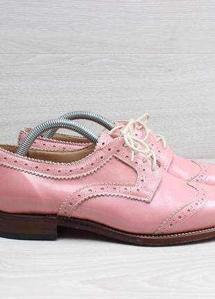 Женские кожаные туфли броги grenson england, размер 37