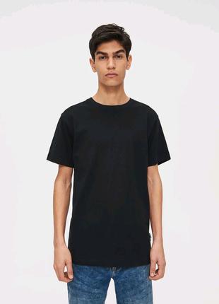 Cropp town мужская чёрная футболка