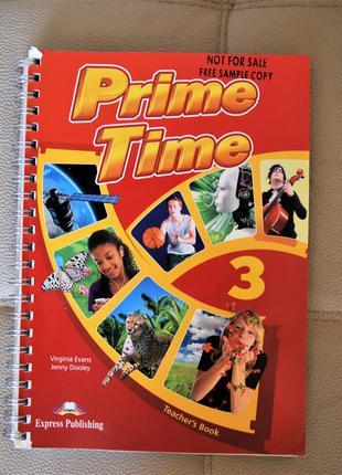 Книга для вчителя PRIME TIME 3 teachers book