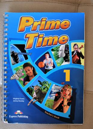 Книга для вчителя PRIME TIME 1 teachers book