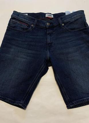 Tommy hilfiger оригинальные мужские джинсовые шорты