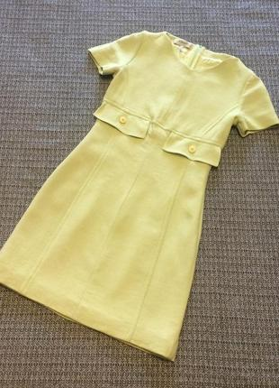 Платье платьице в ретро стиле короткое нежное стильное вискоза...