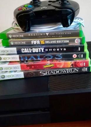 Xbox one 1tb игры