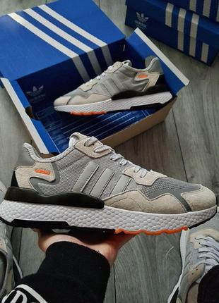Мужские кроссовки Adidas Nite Jogger   KS   1448