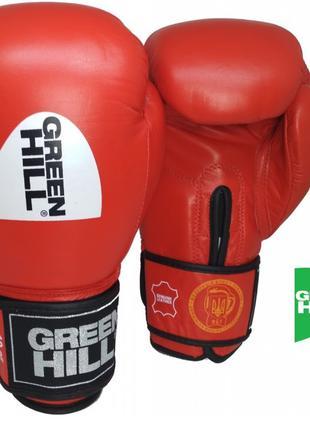 "Боксерские перчатки Green Hill ""KNOCK"" ФБУ"