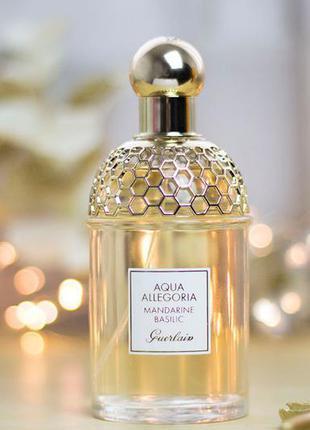 Миниатюра guerlain aqua allegoria mandarine basilic 7,5 ml ори...