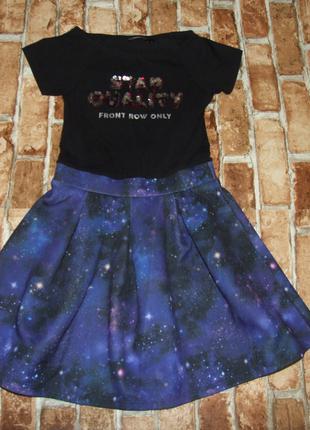 Платье нарядное девочке 9 - 10 лет