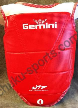 Защита груди и ключицы для тхэквондо двухсторонняя Gemini