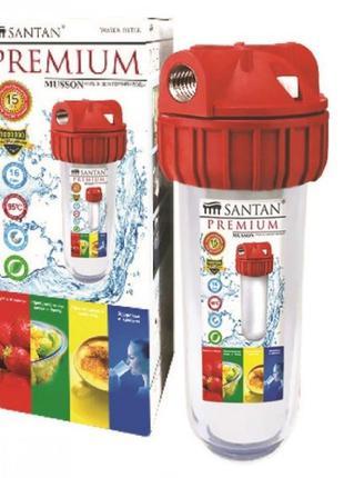 """Фильтр для очистки воды SANTAN Musson 3PS, 1"""" горячая вода кор..."""