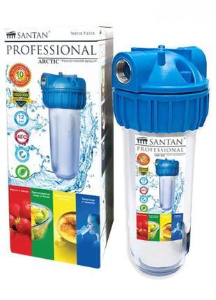 """Фильтр для очистки воды SANTAN Arctic 3PS, 1/2"""" корпус+сетка"""