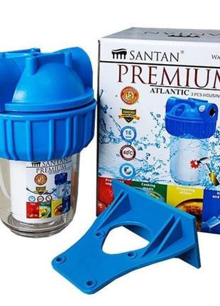 """Фильтр для очистки воды SANTAN ATLANTIC 3PS, 3/4"""" (корпус+сетка)"""