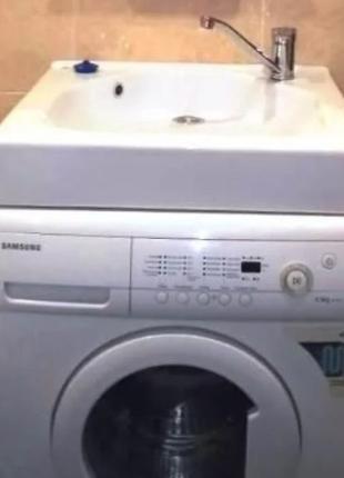 Раковина Дюк Мистер с установкой на стиральную машину 600х550х220