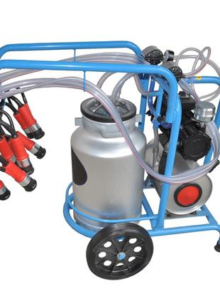 Доильный аппарат для коров DO2-1T (бак 40 л.)