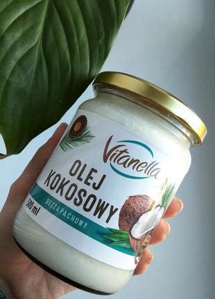 Кокосовое масло Vitanella 500 мл