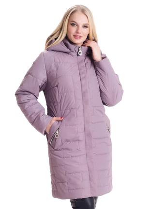 Размер 52-70 стильная демисезонная куртка
