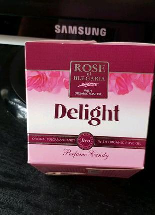 Леденцы Rose of Bulgaria с розовым маслом