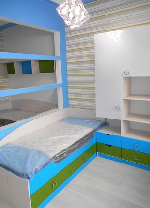 Детская мебель под заказ - детские кровати шкаф пенал полки стол