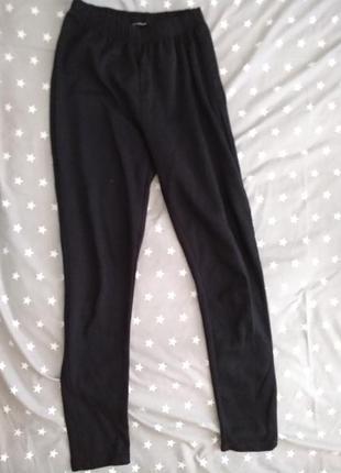 Подштанники черные на мальчика, штаны, зимняя одежда, термобелье