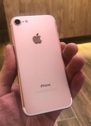 Apple iPhone 7 128Gb Rose Gold Neverlock (51636)