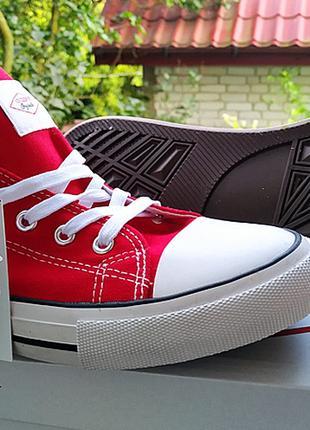 Кеды Lee Cooper красные размер 43 ORIGINAL