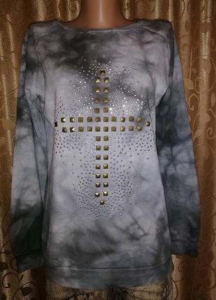 ✨✨✨стильная женская кофта, свитшот, джемпер с крестом atmosphe...