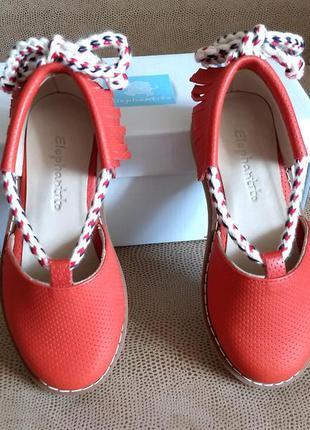 Туфли для девочки elephantito, 25 размер