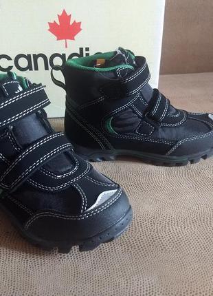 Зимние ботинки на мальчика canadians, 30 размер