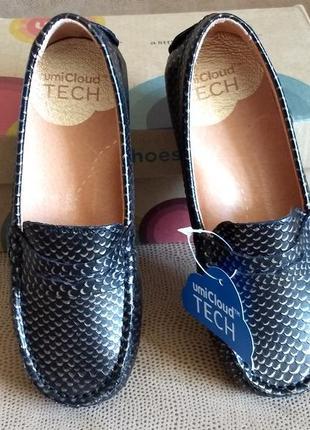 Туфли мокасины для девочки umi, 27 размер