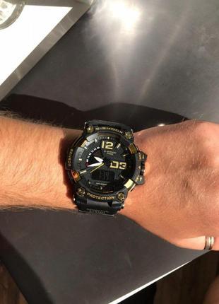 Часы casio g-shock black and gold 012