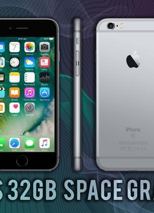 Смартфон IPhone 6S 32gb Space Gray  NEVERLOCK