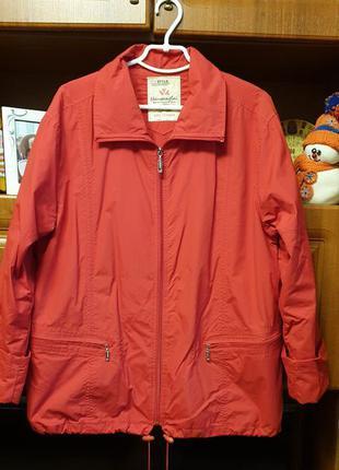 Куртка весна осень 54-56 размер