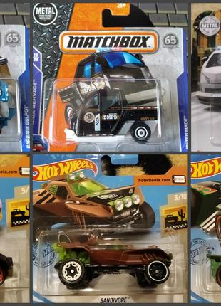 Модели Hot Wheels/Matchbox (40), машинки хот вилс/мачбокс