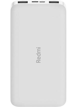 Портативное зарядное устройство Xiaomi Redmi Power Bank 10000mAh